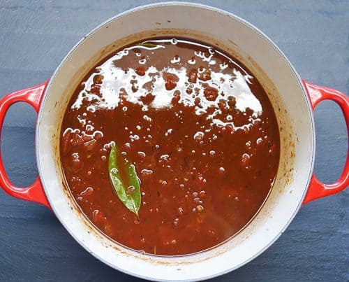 Add tomato base