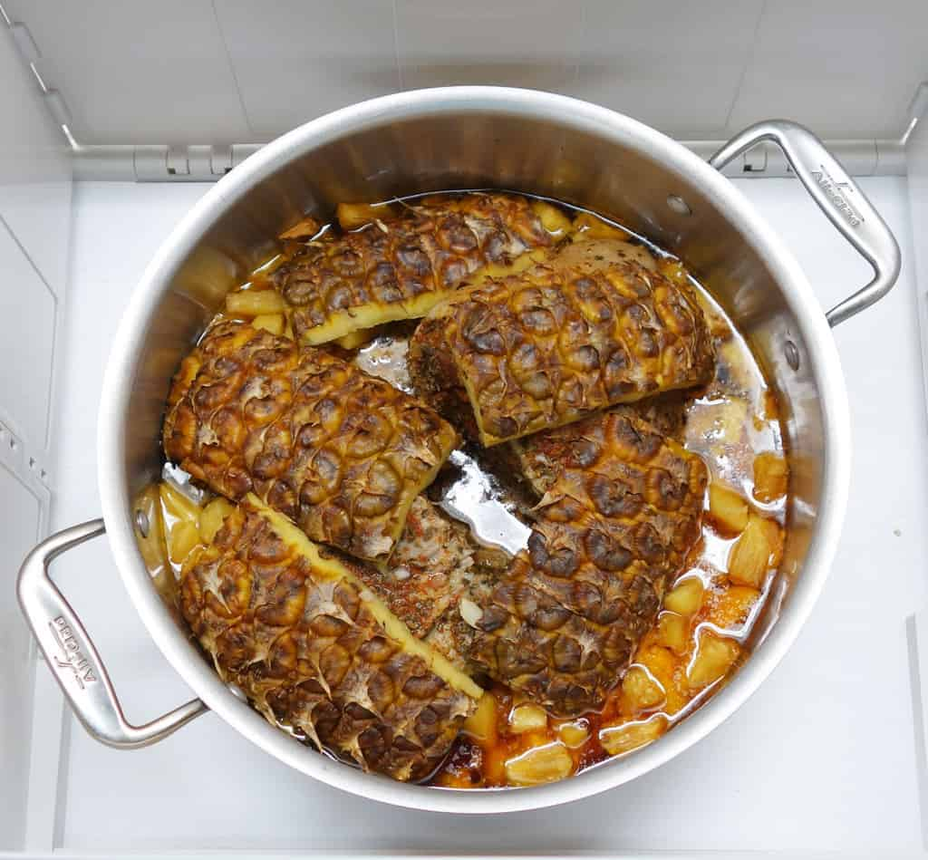 Al Pastore cooked no top