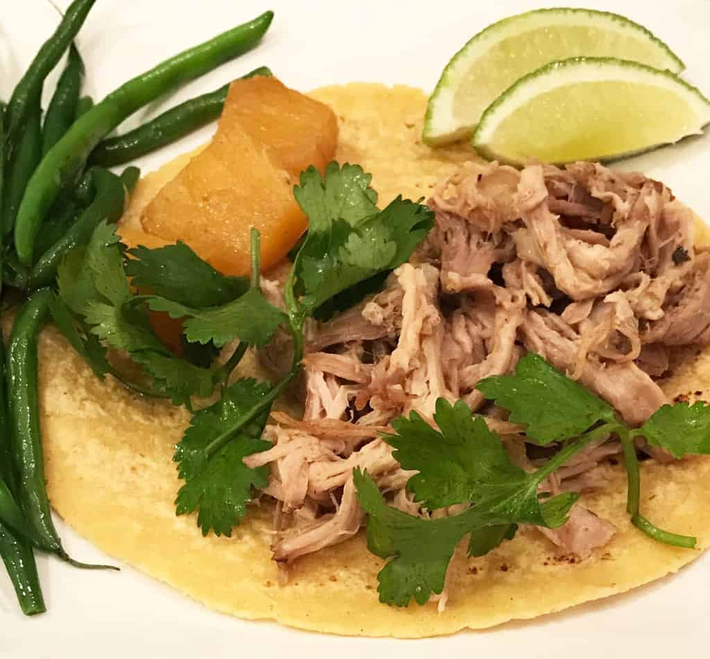 Pork Al Pastore plate C