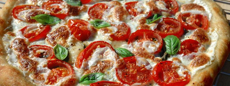 Rustikale pizza